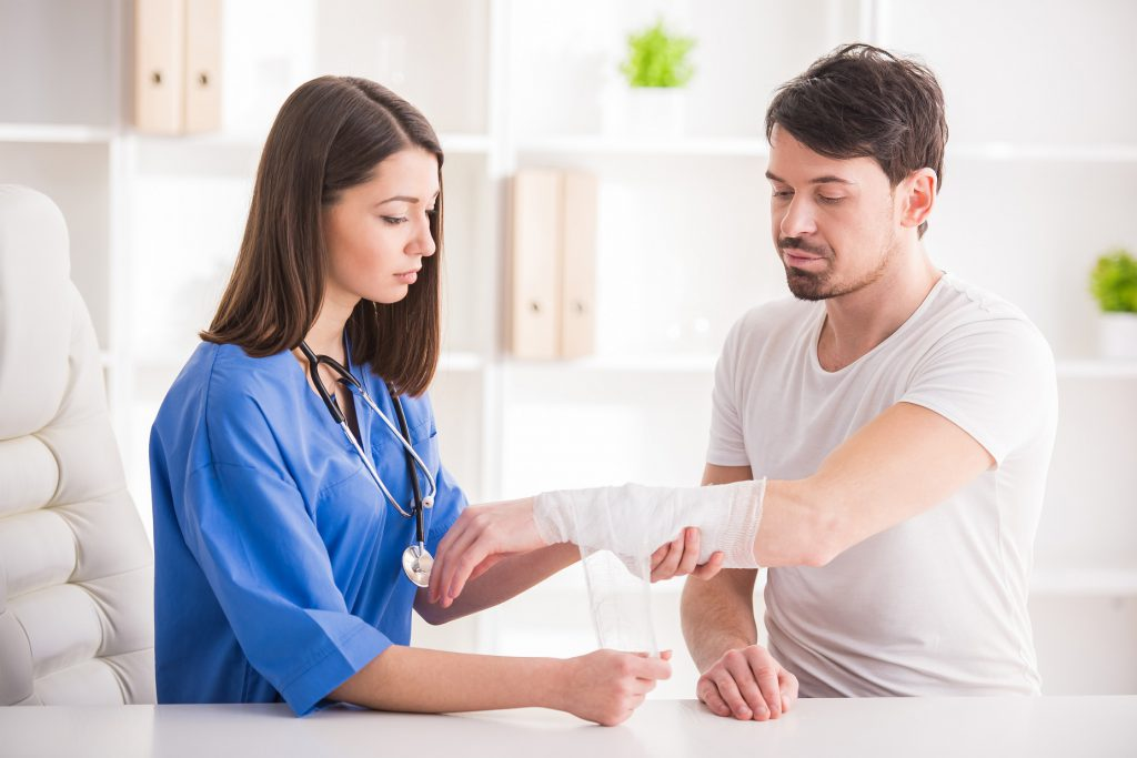 Wound Dressing, Post operative and IV Medication